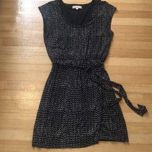 LOFT Knit Wrap Dress